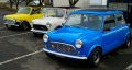 These original Mini Coopers are just so darn cute!