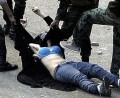 Egyptian woman stripped, stomped by Egyptian government soldiers, (Am
