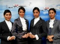 The four newly hired trans flight attendants for PC Air. (photo: Chicago Tribune)