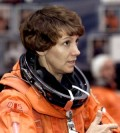 Eileen Collins -- now capable of flying small planes.