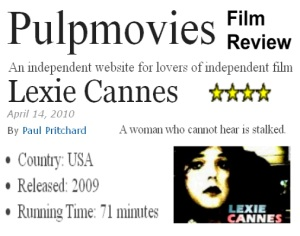 "Pulpmovies rates ""Lexie Cannes"" 4 Stars (out of 5)"