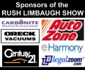 Sponsors of the Rush Limbaugh show