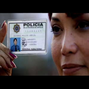 A transgender police officer in Argentina (Photo: hrgeneration.org)