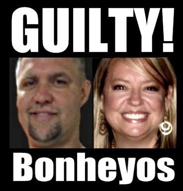 Both Bonheyos plead guilty in a plea agreement with the U.S. Justice Department for fraud