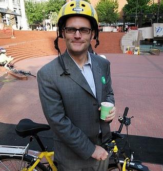 Portland, Oregon Mayor Sam Adams (Photo: bikeportland.org)