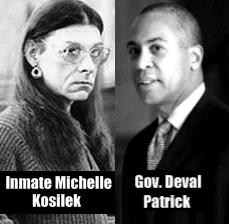 Inmate Michelle Kosilek, Mass. Gov. Deval Partick