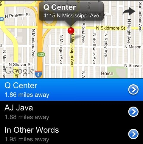 Screenshot of the TranSquat app (Photo: facebook/transquat)