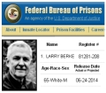 Larry Berke is in the federal BOP database