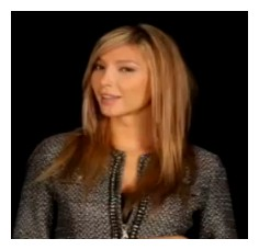 Jenna Talackova as she appears in a PR video about petitioning the WHO