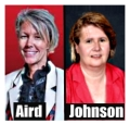 Asst. Supt. Aird has a backbone, Board President Johnson does not