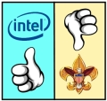 Intel gets it, the Boy Scouts do not