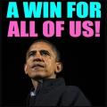 President Obama re-elected (Photo: Washington Post)