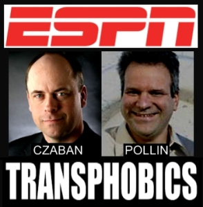 Contact ESPN and tell them to bench transphobic radio hosts