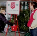 Trans woman and state rep. wanna be Stacy Laughton ring a bell for the Salvation Army! (Photo: unionleader.com)