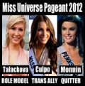 Trans woman Jenna Talackova open doors, trans ally Olivia Culpo wins title, anti-trans Sheena Monnin quits pageant