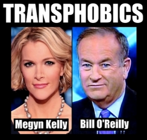 FOX-TV hosts mock trans people