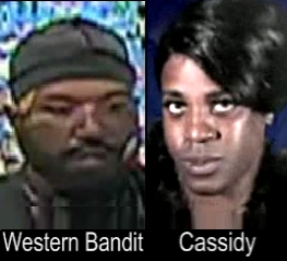 "Photo of the ""Western Bandit"" and Cassidy, the trans woman he killed"