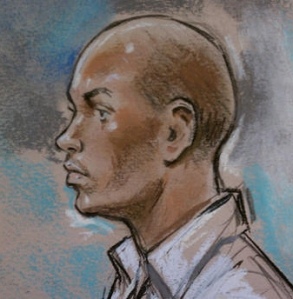 There are no photos of Kenneth Furr other than this courtroom drawing