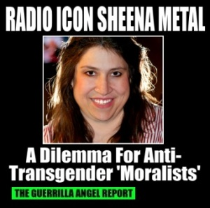 Sheena Metal intersex