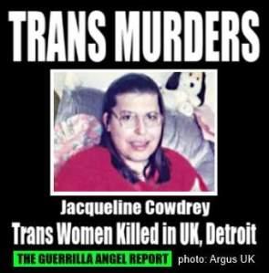 Jacqueline Cowdrey the argus