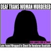 deaf trans woman honduras