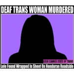deaf trans woman honduras