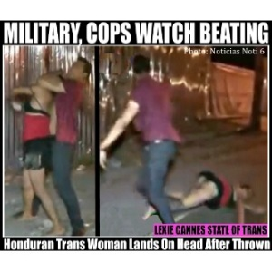 honduras trans beating