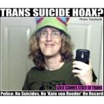 Kate Von Roeder suicide hoax