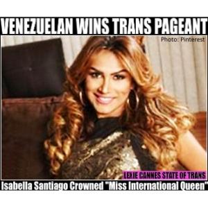 Isabella Santiago transgender