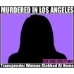 Transgender murder