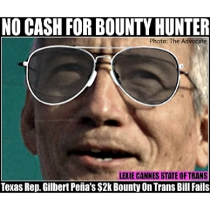 Rep Gilbert Peña trans