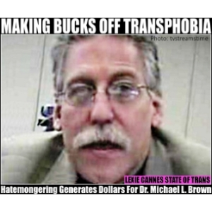 michael l brown transphobia