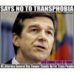 roy cooper nc trans