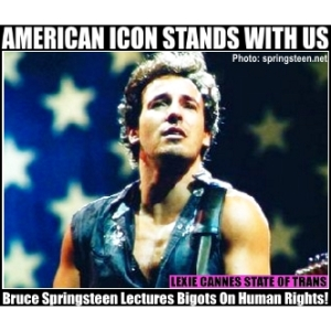 bruce springsteen north carolina trans