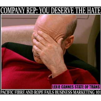 PACIFIC FIBRE AND ROPE TRANS HATE